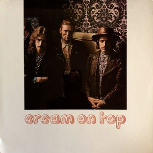 Cream ‎- Cream On Top (LP) (G-VG/VG)